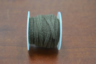 10 Meters Green Leather Suede Beading Cord Roll 2mm