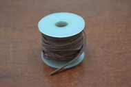 10 Meters Brown Leather Suede Beading Cord Roll 2mm