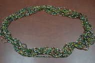 12 Necklaces Multi Colors Glass Seed Love Beading Beads 36""