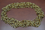 12 Necklaces Brown Glass Seed Love Beading Beads 36""