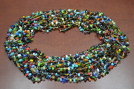 12 Necklaces Multi Colors Glass Seed Beading Love Beads 36""