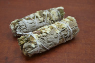 Sinuata California White Sage Smudge Bundle 4""
