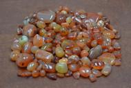 250+ Pcs Red Carnelian Agate Gemstone Rock Chips