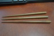 "3 Pcs Carved Wood Hairsticks 7"""
