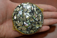 Abalone Shell Trinket Box Coin Purse