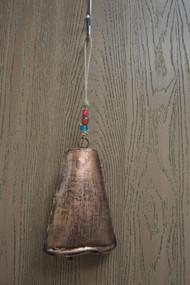 "Handmade Rusty Metal Iron Bell Hanger 8"""