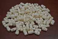 """100 Pcs Tibetan Buddhish Buffalo Skull Bone Beads 1/2"""""""