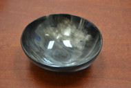 Dark Honey Buffalo Horn Bowl