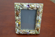 Handmade Assort Mix Seashell Photo Frame