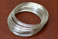 Stainless Steel Memory Wire Loop Bracelet