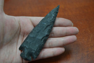 "Hand Knapped Agate Stone Spear Arrowhead Point 4 1/2"" - 5"""