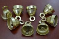 Handmade Gold Plated Farm Bells