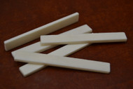 Electric Guitar Buffalo Bone Saddle Blank 75 x 9 x 3mm