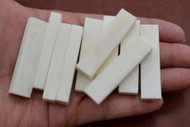 Electric Guitar Buffalo Bone Nut Blank 50 x 12 x 5mm