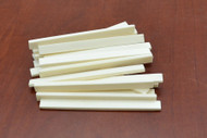 Electric Guitar Buffalo Bone Saddle Blank 125 x 10 x 3mm