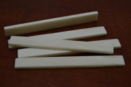 Electric Guitar Buffalo Bone Saddle Blank 100 x 12 x 3mm