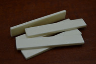 Electric Guitar Buffalo Bone Saddle Blank 75 x 12 x 3mm