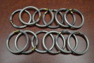 12 Pcs Cast Iron Metal Dream Catcher Ring Macrame Hoop