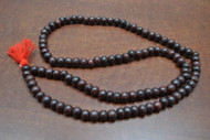 Red Wood Tibetan Buddhish Mala Prayer Beads 10mm