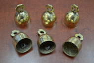 Handmade Solid Brass Metal Farm Bells 2""