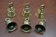 Handmade Solid Metal Brass Farm Bells 2""