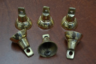 Handmade Solid Metal Farm Brass Bells 1 3/4""