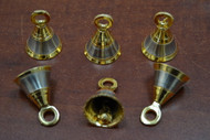 Handmade Brass Solid Metal Farm Bells 1 1/2""