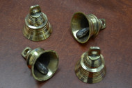 Handmade Solid Brass Farm Metal Bells 2 1/4""