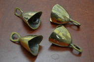 Handmade Solid Brass Farm Metal Bells 2 3/4""