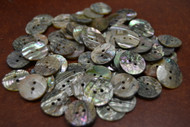 Abalone Shell Sewing Round Buttons 17mm