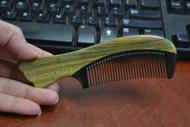 Handmade Anti Static Hair Wood Sandalwood Comb