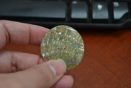 Abalone Shell Sewing Round Buttons 40mm