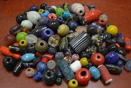 250 Pcs Assort Mult Color Glass Beading Beads