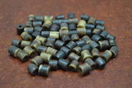 Brown Cholocate Plain Tube Bone Beads 6mm