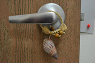 Brown Conch Seashell Hanger Door Bottle Beach Decor