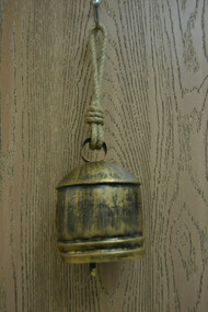 Handmade Iron Rusty Metal Bell 7""