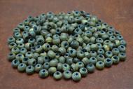 Brown Round Buffalo Horn Tube Beading Beads 6mm