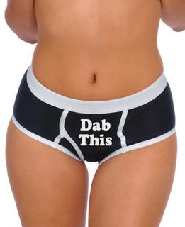 Dab This - Boy Brief Underwear Aesop Originals Clothing (Black)