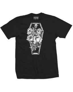 Casa De Calavera - Mens Tee Shirt Aesop Originals Clothing (Black)