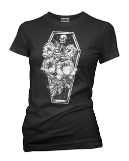 Casa De Calavera - Tee Shirt Aesop Originals Clothing (Black)