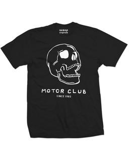 The Howlers Skull - Mens Tee Shirt Aesop Originals Clothing (Black)