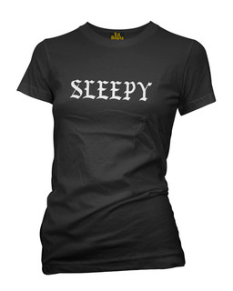 Sleepy - Tee Shirt Lil Angels Clothing (Black)