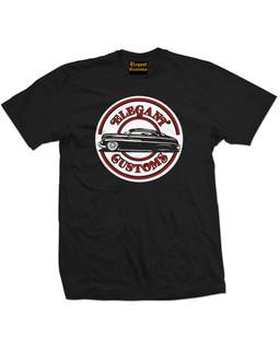 Elegant Customs O.G. Logo - Mens Tee Shirt Elegant Customs Clothing (Black)