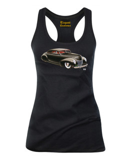 1939 - 1940 Mercury Convertible Coupe - Tank Top Elegant Customs Clothing (Black)