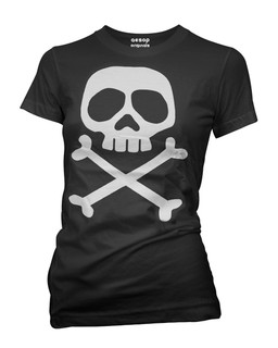 The Misfit Captain - Tee Shirt Aesop Originals Clothing (Black)