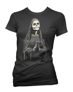 Santa Muerte - Tee Shirt Aesop Originals Clothing (Black)