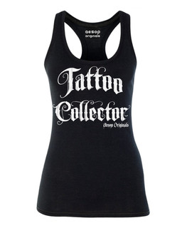 Tattoo Collector - Tank Top Aesop Originals Clothing (Black)