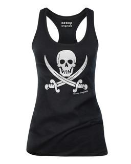 Jolly Roger Pirate Flag - Tank Top Aesop Originals Clothing