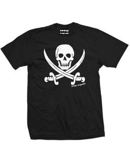 Jolly Roger Pirate Flag - Mens Tee Shirt Aesop Originals Clothing