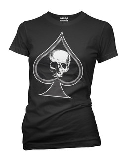 Thee Ace Of Spade - Tee Shirt Aesop Originals Clothing (Black)